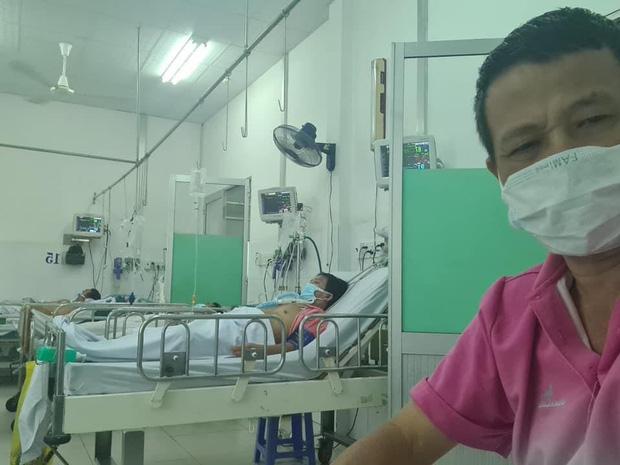 Đây là tình trạng hiện tại của diễn viên Lữ Đắc Long sau khi cả nhà 4 người nhiễm Covid-19, hình ảnh lắp ống thở gây xót xa-2