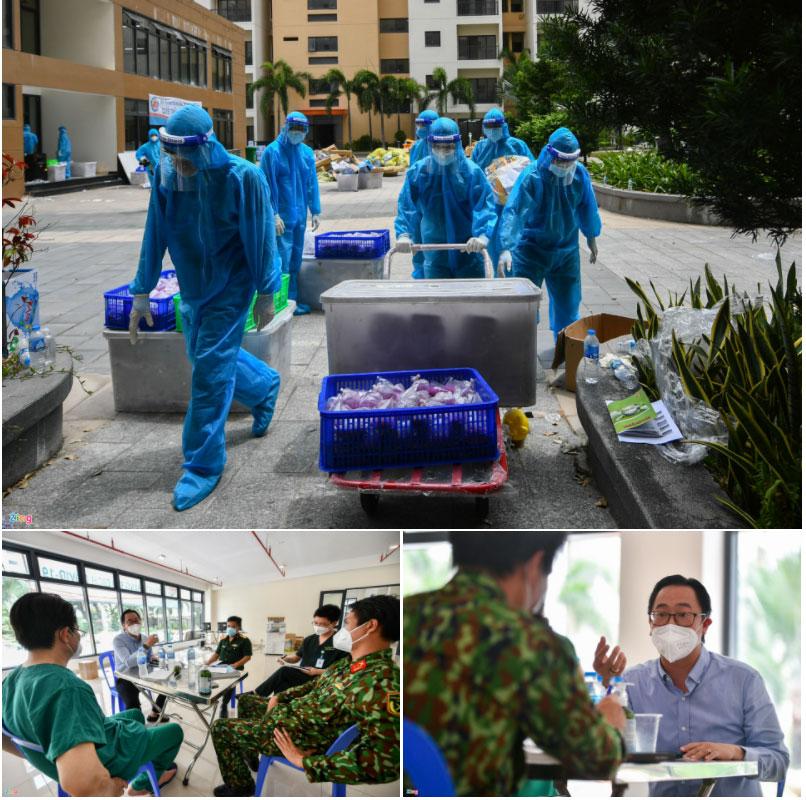 72 giờ xây dựng và vận hành bệnh viện dã chiến lớn nhất Việt Nam-8