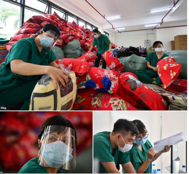 72 giờ xây dựng và vận hành bệnh viện dã chiến lớn nhất Việt Nam-10