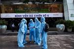 Cận cảnh bệnh viện dã chiến số 5 tại Thuận Kiều Plaza trước ngày hoạt động-15