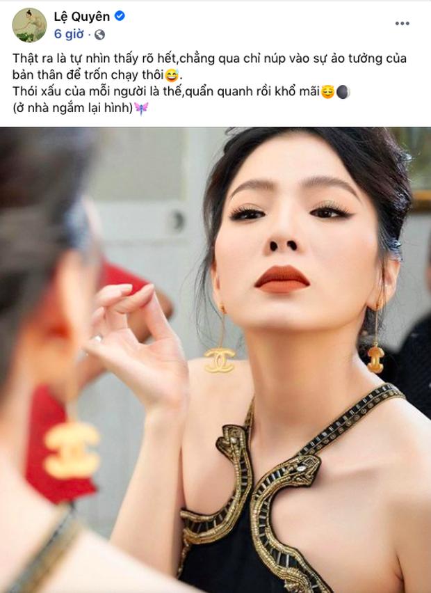 Đăng ảnh ăn vận chanh sả, Lệ Quyên bị netizen chê già như 60 tuổi và đây là emoji cô sử dụng để phản ứng-1