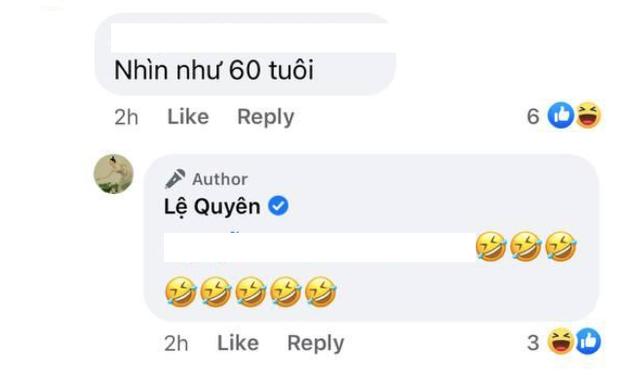 Đăng ảnh ăn vận chanh sả, Lệ Quyên bị netizen chê già như 60 tuổi và đây là emoji cô sử dụng để phản ứng-3