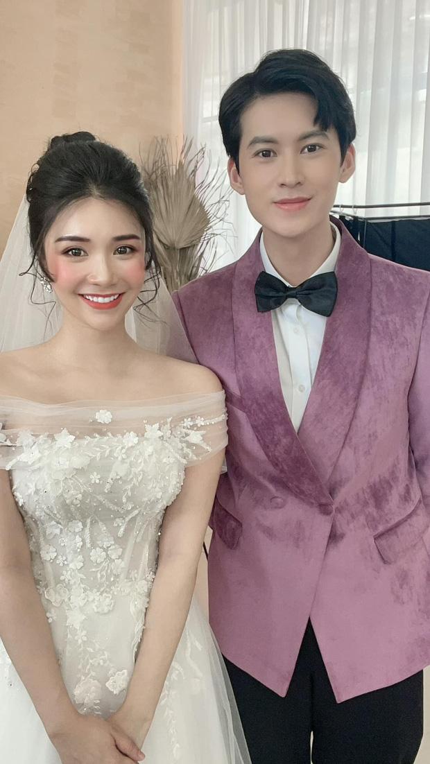 Chia tay Quang Lê đã lâu, hôm nay Thanh Bi bất ngờ tung ảnh cưới tình tứ bên chàng trai lạ mặt khiến ai nấy cũng ùa vào chúc mừng-2