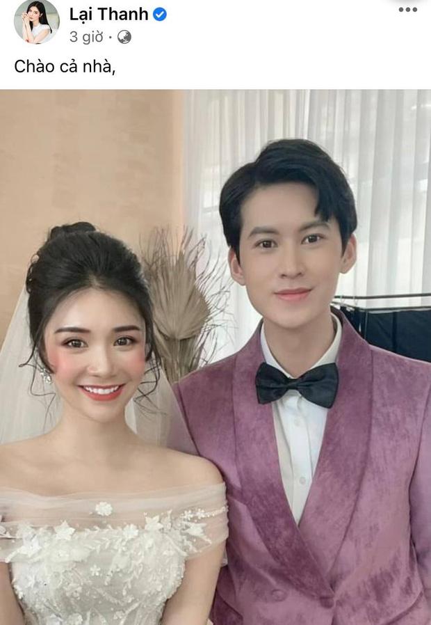 Chia tay Quang Lê đã lâu, hôm nay Thanh Bi bất ngờ tung ảnh cưới tình tứ bên chàng trai lạ mặt khiến ai nấy cũng ùa vào chúc mừng-1