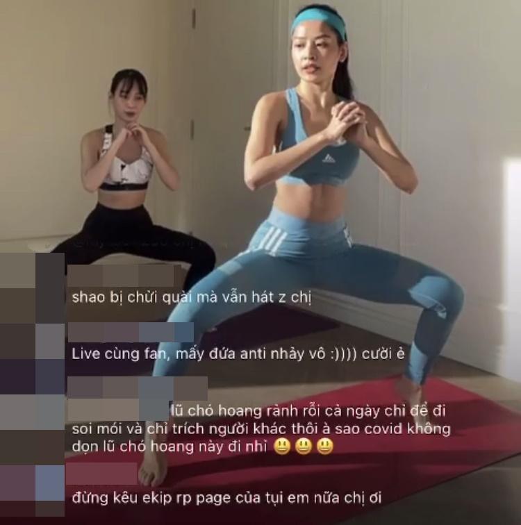 Không hát hò gì, Chi Pu hướng dẫn tập cơ bụng mà cũng bị mắng xối xả-3