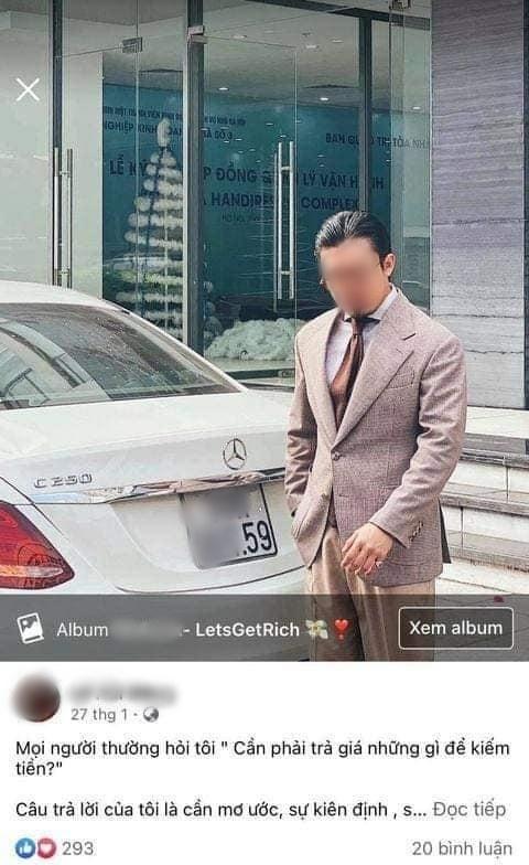 Lại có thêm hotboy tài chính xài chung 1 ô tô chụp ảnh, truyền đạt triết lý làm giàu-3