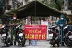 Hà Nội: Thiết lập 4 chốt phong tỏa, lấy mẫu xét nghiệm sau khi ghi nhận ca F0 đầu tiên tại phường Nam Đồng-10
