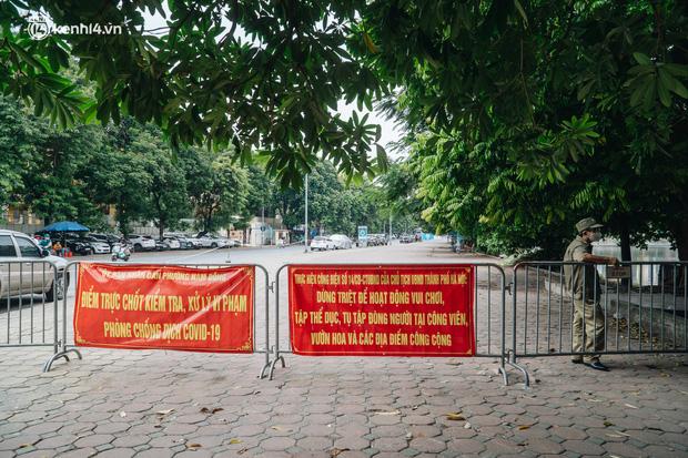 Hà Nội: Thiết lập 4 chốt phong tỏa, lấy mẫu xét nghiệm sau khi ghi nhận ca F0 đầu tiên tại phường Nam Đồng-9
