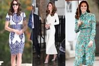 Công nương Kate lên đồ thì chỉ có đỉnh, ngồi ngắm mà thấy xịn hơn cả người mẫu chuyên nghiệp