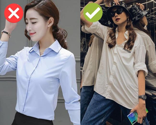 Cách chọn áo sơ mi của Thanh Hằng ở tuổi U40: Chỉ mê một kiểu trẻ trung, tẩy chay một kiểu lỗi mốt-13