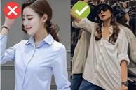 Cách chọn áo sơ mi của Thanh Hằng ở tuổi U40: Chỉ mê một kiểu trẻ trung, 'tẩy chay' một kiểu lỗi mốt