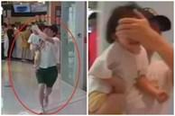 Bố bịt mắt con gái chạy thục mạng trong siêu thị, khi nhìn kỹ thứ đằng sau họ, dân mạng liền bật cười đồng cảm