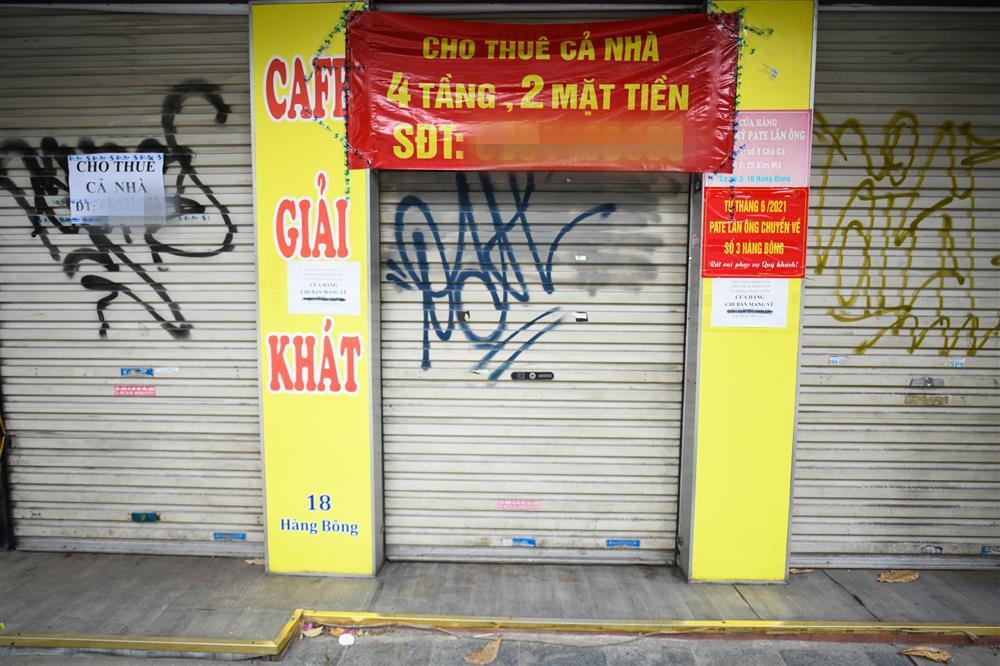 Hàng loạt nhà phố cổ Hà Nội treo biển cho thuê, bán nhà-11