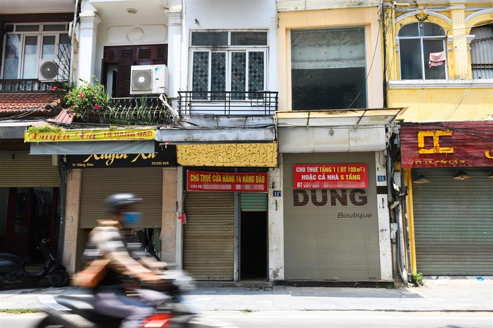Hàng loạt nhà phố cổ Hà Nội treo biển cho thuê, bán nhà-3