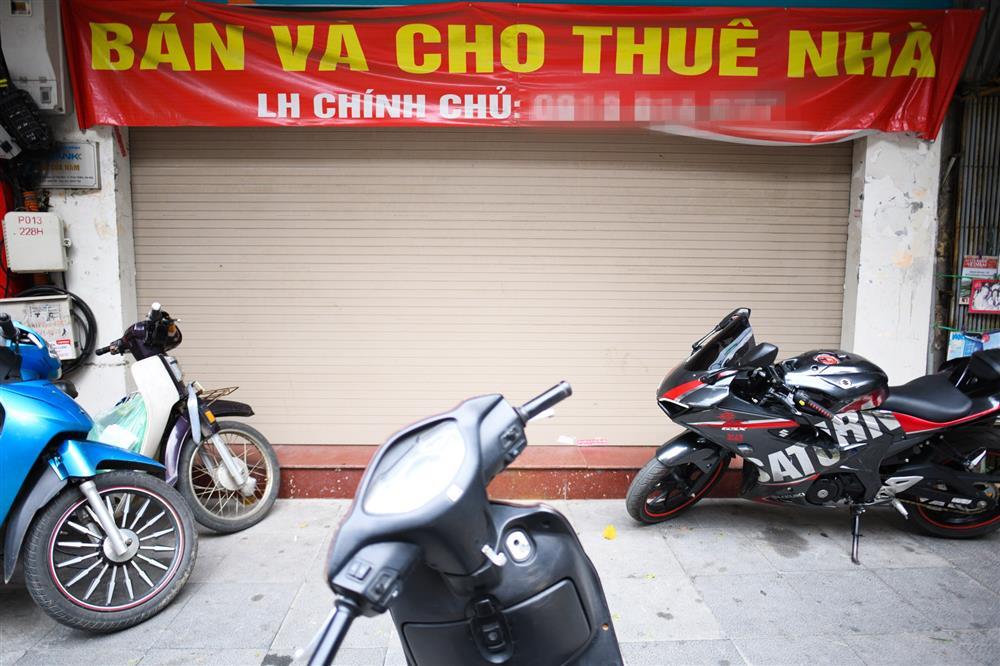 Hàng loạt nhà phố cổ Hà Nội treo biển cho thuê, bán nhà-5