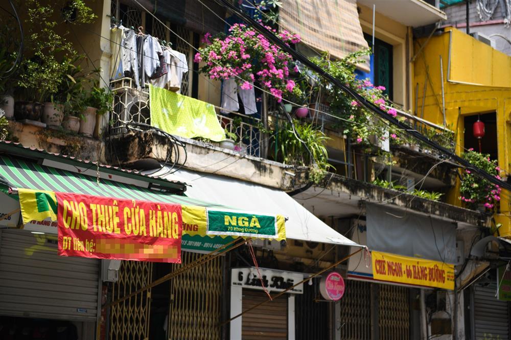 Hàng loạt nhà phố cổ Hà Nội treo biển cho thuê, bán nhà-8