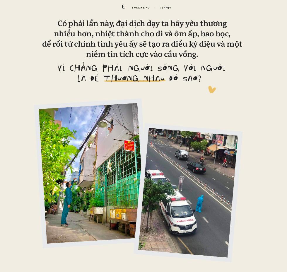 Sài Gòn giữa những ngày ngàn ca nhiễm: Người với người sống để thương nhau-17