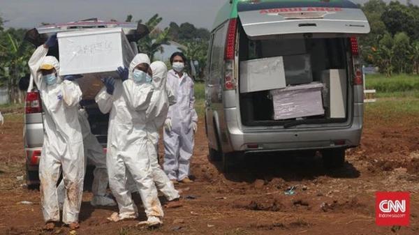 Ca tử vong do Covid-19 ở Indonesia tăng kỷ lục, số bác sĩ chết tăng 100%-1