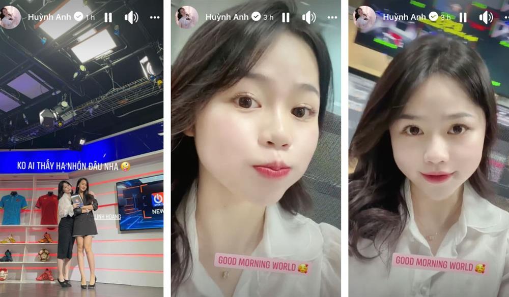 Xôn xao thông tin Huỳnh Anh - bạn gái cũ cầu thủ Quang Hải trở thành MC bản tin bóng đá!?-2