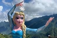 Tượng Nữ hoàng băng giá Elsa ở Sa Pa gây tranh cãi bởi tạo hình béo ú, mặt 'ác như mụ phù thủy': Cơ quan chức năng vào cuộc