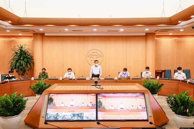 Chủ tịch Hà Nội: Thành phố xác định áp dụng các biện pháp mạnh nhất gần với Chỉ thị 16-1