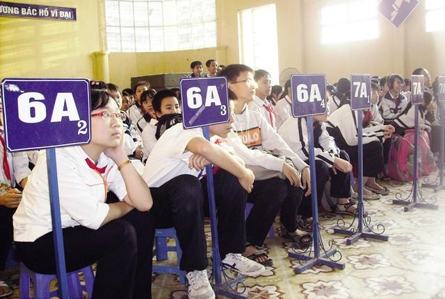 Tuyển sinh lớp 6 tại Hà Nội rối vì đa số học sinh chưa học xong lớp 5-1