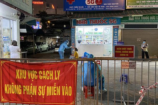 Chùm lây nhiễm phức tạp tại nhà thuốc Đức Tâm - Hà Nội: 11 ca dương tính SARS-CoV-2 ở những quận, huyện nào?