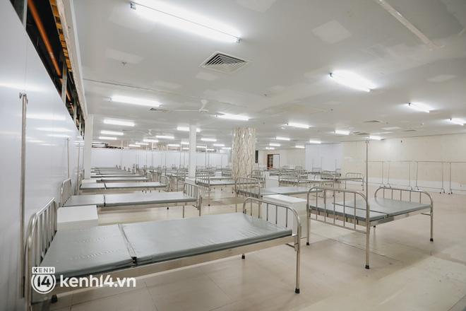 Cận cảnh bệnh viện dã chiến số 5 tại Thuận Kiều Plaza trước ngày hoạt động-7