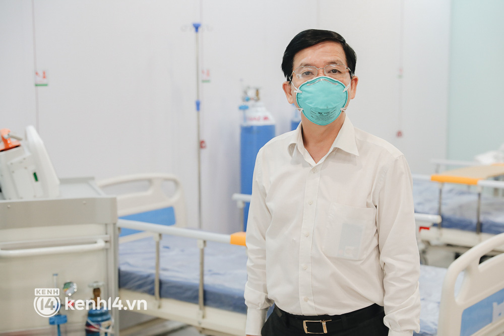 Cận cảnh bệnh viện dã chiến số 5 tại Thuận Kiều Plaza trước ngày hoạt động-11