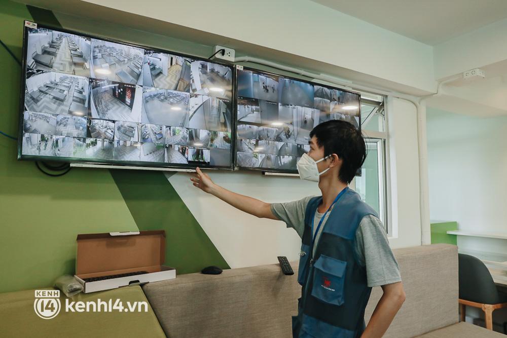 Cận cảnh bệnh viện dã chiến số 5 tại Thuận Kiều Plaza trước ngày hoạt động-13