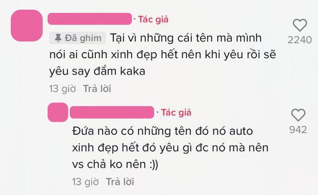 Thanh niên lên mạng công bố top 5 cái tên con gái không nên yêu, nói gì mà netizen định ném đá bỗng chuyển sang cười tủm tỉm?-3