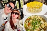 Hari Won vụng về bếp núc, Trấn Thành lạinấu ăn siêu ngon, nghỉ dịch ở nhà trình nấu nướng càng lên tay
