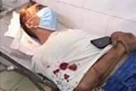 Vợ chém chồng hàng chục nhát phải nhập viện cấp cứu ở Vĩnh Phúc