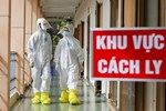 Hà Nội: Bộ tư lệnh Thủ đô dùng xe chuyên dụng, phun khử khuẩn toàn bộ thị trấn Quốc Oai-13