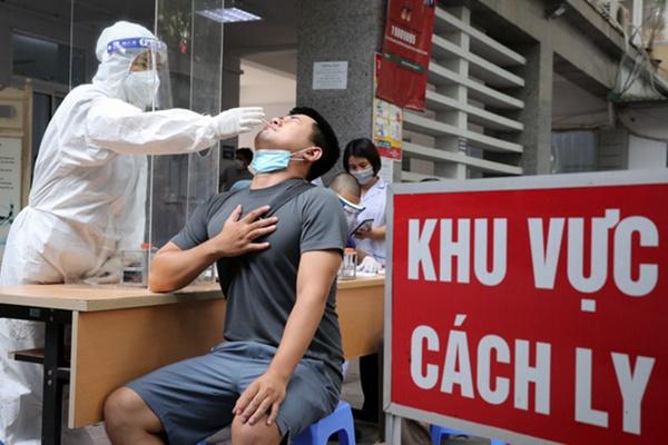 Sáng 22/7, Hà Nội phát hiện thêm 17 ca dương tính SARS-CoV-2 ở 9 quận, huyện