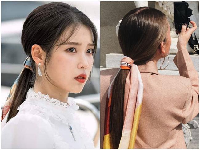 3 kiểu tóc Pháp mà idol Kpop mê mẩn: Tóc tết, buộc hay búi đều thêm phụ kiện siêu xinh-3