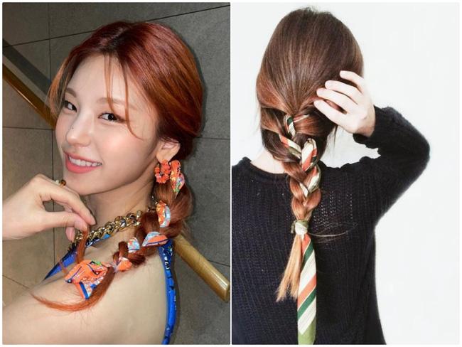 3 kiểu tóc Pháp mà idol Kpop mê mẩn: Tóc tết, buộc hay búi đều thêm phụ kiện siêu xinh-4