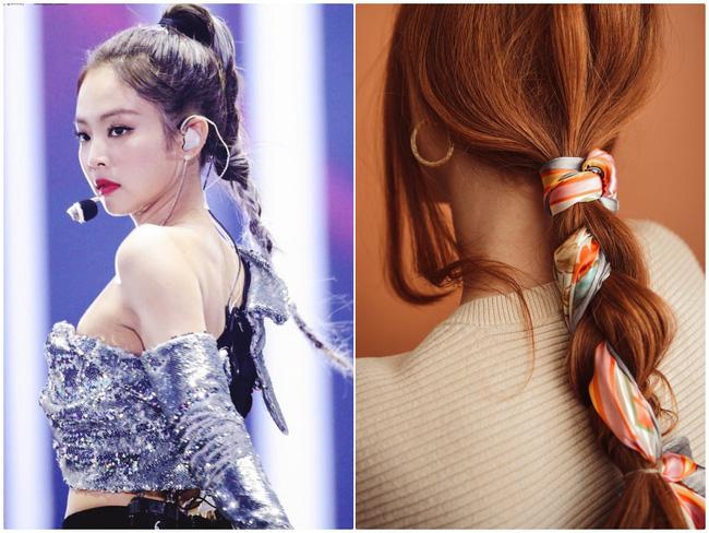3 kiểu tóc Pháp mà idol Kpop mê mẩn: Tóc tết, buộc hay búi đều thêm phụ kiện siêu xinh-5