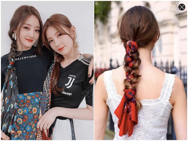 3 kiểu tóc Pháp mà idol Kpop mê mẩn: Tóc tết, buộc hay búi đều thêm phụ kiện siêu xinh-6