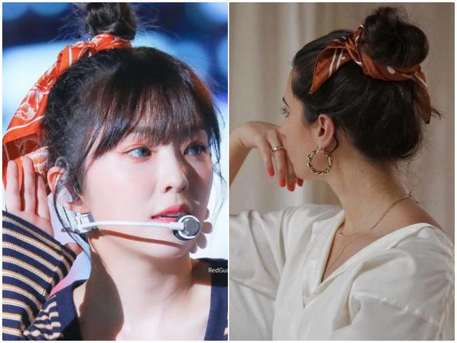 3 kiểu tóc Pháp mà idol Kpop mê mẩn: Tóc tết, buộc hay búi đều thêm phụ kiện siêu xinh-7