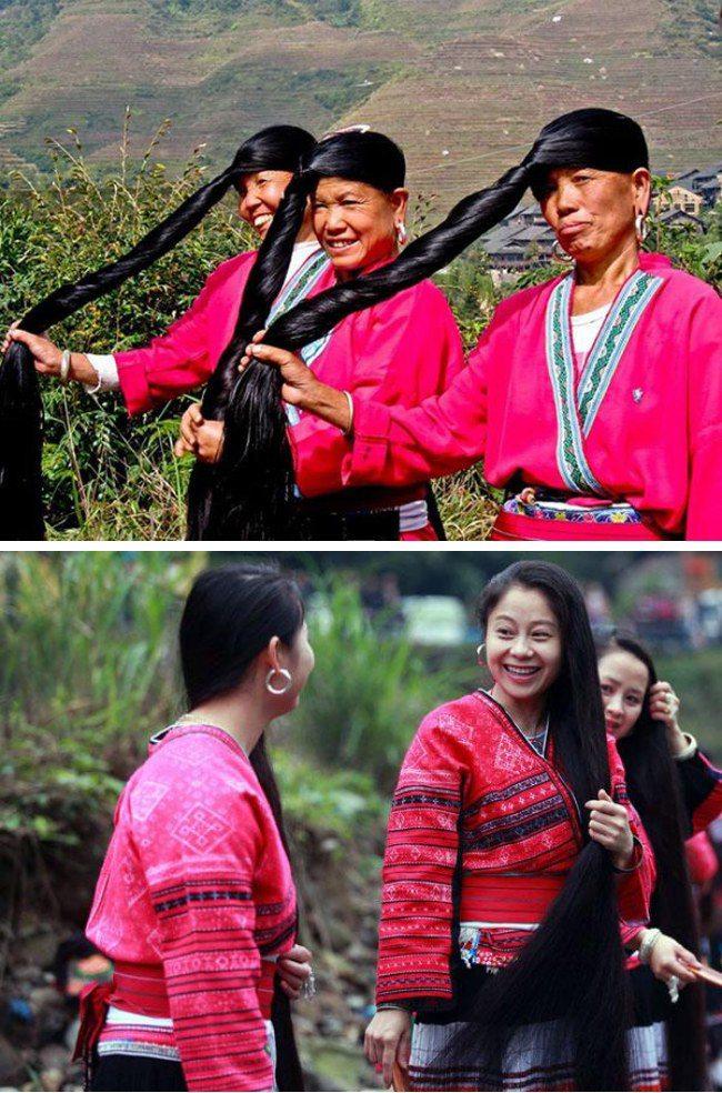 Rẻ-đẹp-dễ: Vo gạo đừng đổ nước đi, học gái dân tộc Thái ủ vài tuần, tóc mọc ầm ầm-4