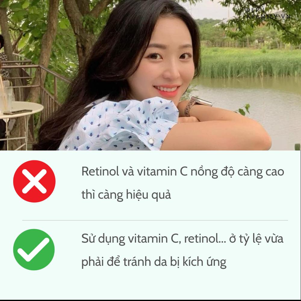 5 sai lầm khi sử dụng retinol và vitamin C khiến da sạm nám và lão hóa không phanh-2