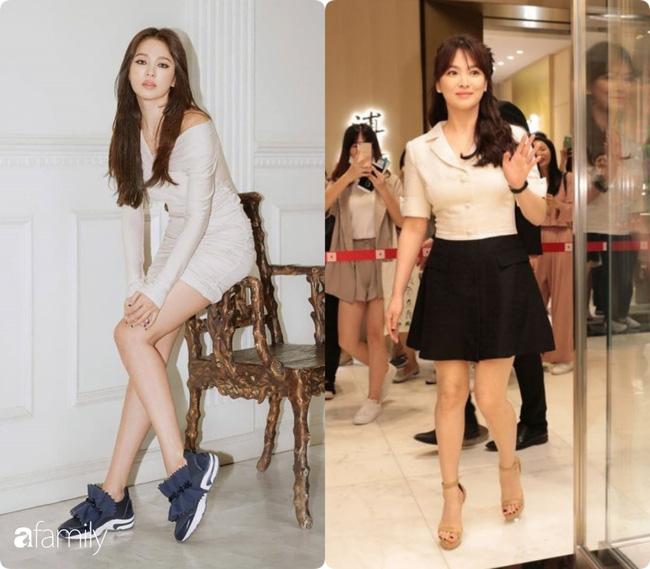 Bóc mẽ sự thật về đôi chân của Song Hye Kyo mỗi khi chụp hình thời trang-6