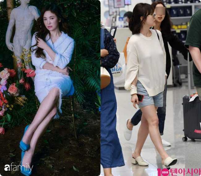 Bóc mẽ sự thật về đôi chân của Song Hye Kyo mỗi khi chụp hình thời trang-7