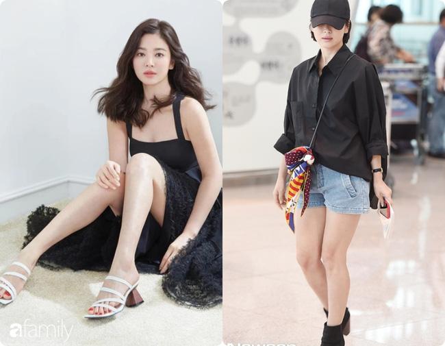 Bóc mẽ sự thật về đôi chân của Song Hye Kyo mỗi khi chụp hình thời trang-8