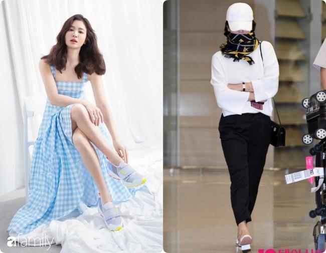 Bóc mẽ sự thật về đôi chân của Song Hye Kyo mỗi khi chụp hình thời trang-9