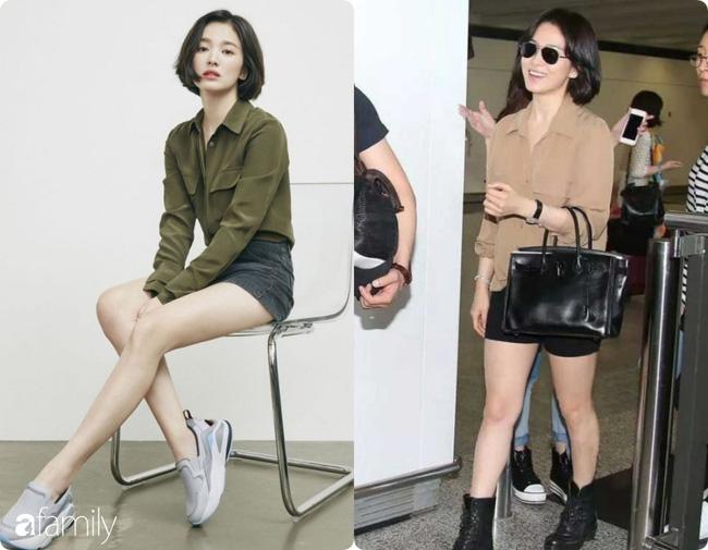 Bóc mẽ sự thật về đôi chân của Song Hye Kyo mỗi khi chụp hình thời trang-10