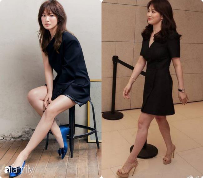 Bóc mẽ sự thật về đôi chân của Song Hye Kyo mỗi khi chụp hình thời trang-11