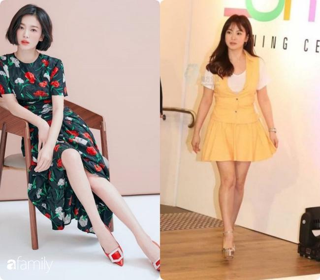 Bóc mẽ sự thật về đôi chân của Song Hye Kyo mỗi khi chụp hình thời trang-12