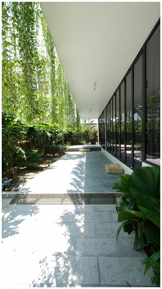 Ở đây có căn biệt thự nhiệt đới ngập cây xanh, bước vào bên trong càng wow hơn nữa vì không gian chill hệt như resort-4